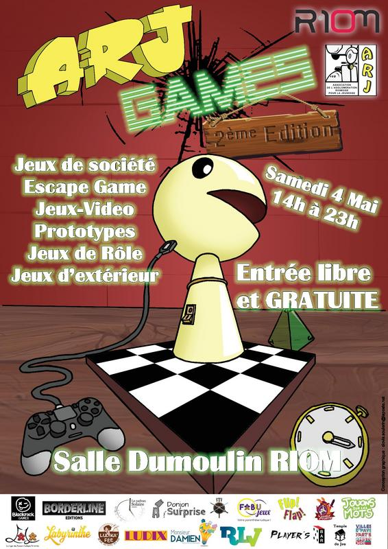 Affiche officielle ARJ Games 2019
