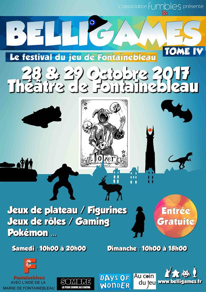 Affiche officielle de Belligames