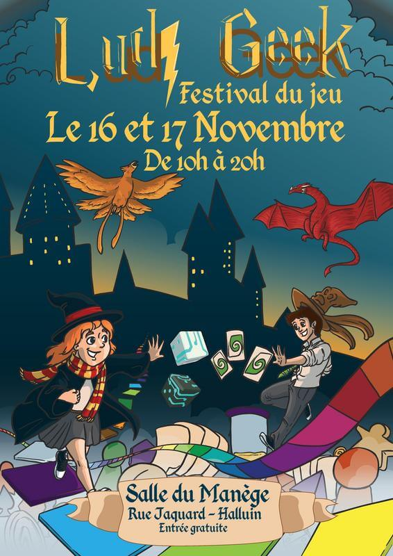 Affiche officielle de Ludi Geek 2019
