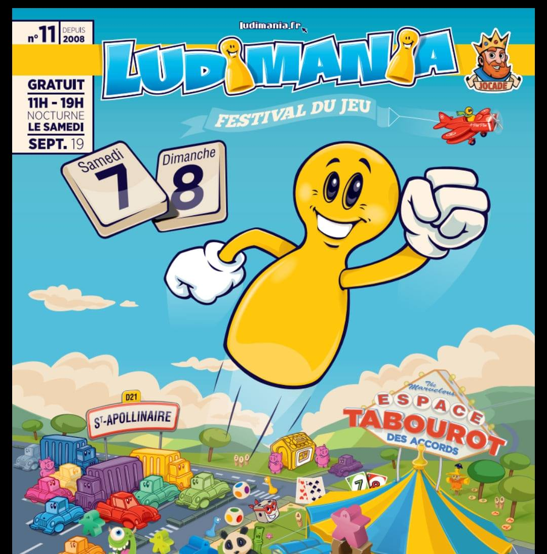 Affiche officielle de Ludimania