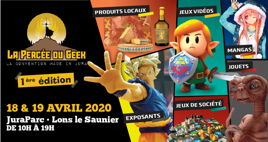 Affiche officielle La Percée du Geek 2020