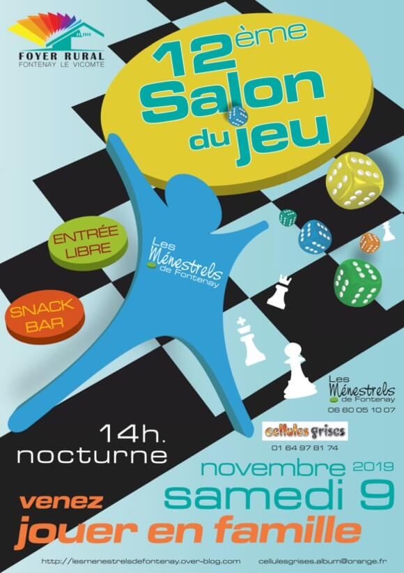 Affiche officielle Salon du jeu  2019