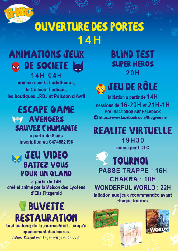 Affiche officielle The house of games 2020